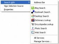 SearchWith, extensión para Firefox y Thunderbird que nos facilita las búsquedas