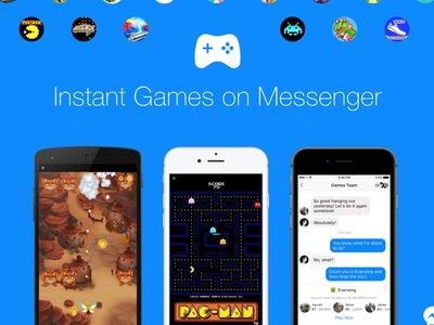 Facebook lanza su plataforma de videojuegos para Messenger, Instant Games