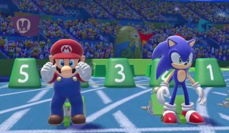 Mario y Sonic regresan a la competencia para Rio 2016