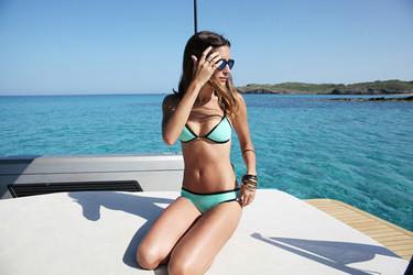 El bikini de triángulo clásico el más demandado por las bloggeras