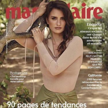 Penélope Cruz vuelve a vestir de Jacquemus, esta vez protagonizando la nueva portada de Marie Claire