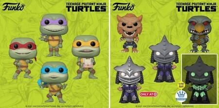 Figuras Funko POP de Las Tortugas Ninja en Amazon México