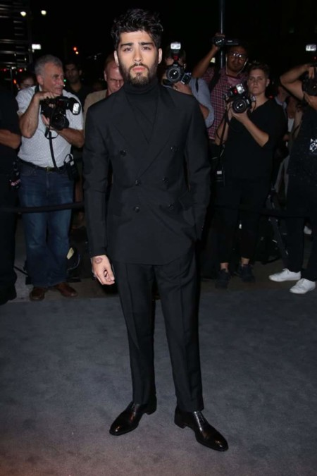 Zayn Malik Tom Ford Runway Show New York Fashion Week