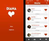 Diana, un nuevo buscador español de restaurantes en tu iPhone