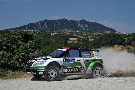 Lucha por todo lo alto en el Rally de San Marino