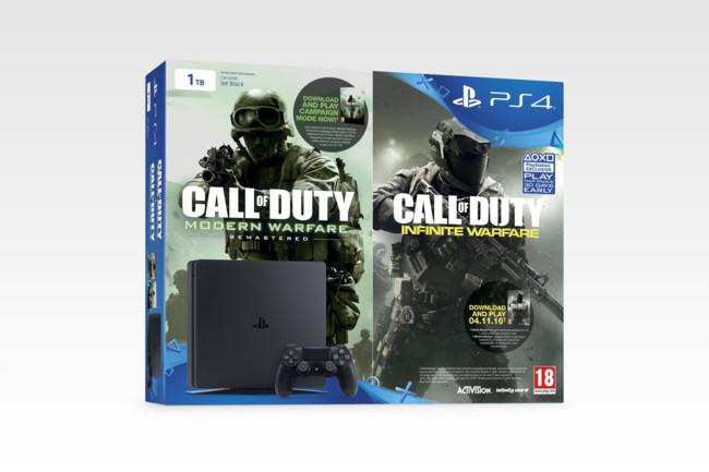 Ps4 Slim Call Of Duty Infinite Warfare 02