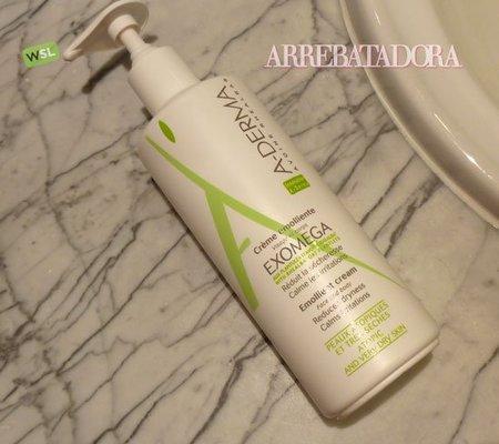 ¿Piel atópica? Exomega de A-derma, una crema corporal anti-irritaciones