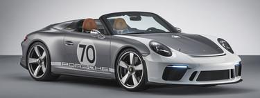 El Porsche 911 Speedster Concept de 500 CV adelanta cómo de espectacular será el último 991