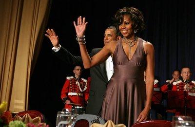 ¿Qué le ha pasado al peinado de Michelle Obama?
