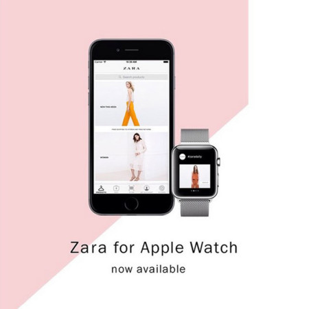 Zara y Asos ya tienen su aplicación para el Apple Watch. ¿Futuro o postureo?