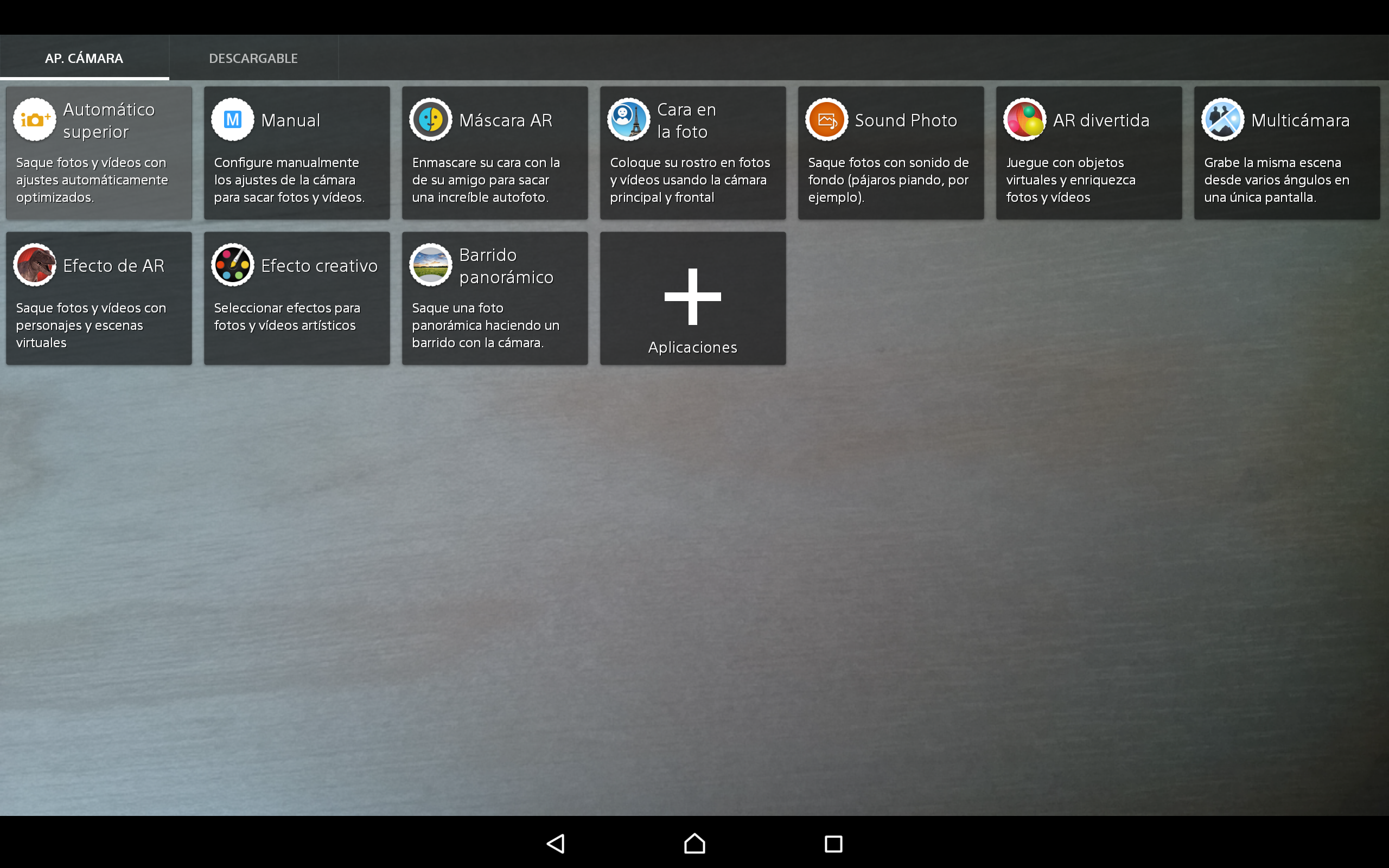 Foto de Software Sony Xperia Z4 Tablet (1/10)