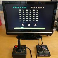 El emulador definitivo de una videoconsola Atari 2600 entra en un cartucho de la consola
