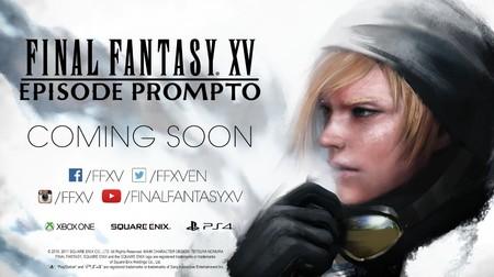 El episodio dedicado a Prompto y la nueva actualización de Final Fantasy XV llegarán el 27 de junio [E3 2017]