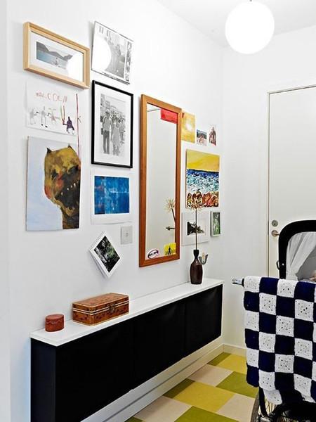 Ikea trones la soluci n para los peque os espacios - Zapatero entrada casa ...