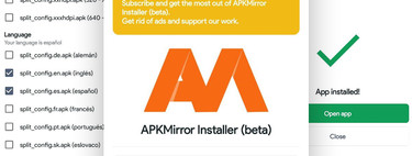 How to install Android 'App Bundles' in APKM format with APKMirror Installer