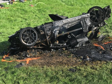 Durísimo accidente de Richard Hammond con el Rimac Concept One grabando The Grand Tour