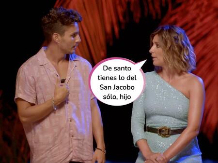 Sandra Barneda le planta cara a Manuel en 'La Isla de las Tentaciones 3' y acaba partiéndose de la risa por su respuesta