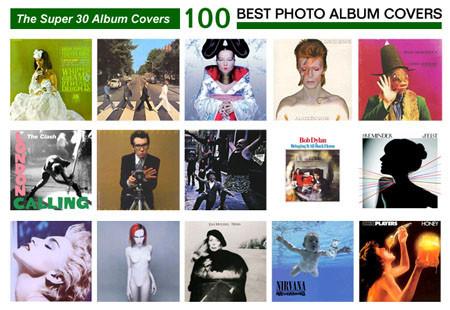 Las 100 mejores fotos en portadas de discos