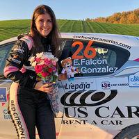 Emma Falcón hace historia al ser la primera española en proclamarse campeona de Europa de rallies