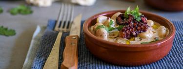 Mr. Delic o cómo preparar platos resultones, como estos ñoqui con pulpo al curry rojo, en menos de 15 minutos (receta incluida)