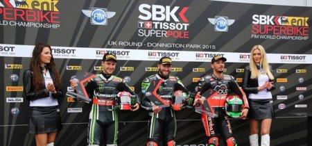 Superbikes Gran Bretaña 2015: pole para Tom Sykes y Kenan Sofuoglu