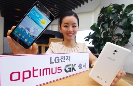LG Optimus GK listo para el mercado coreano