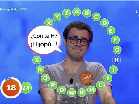 'Pasapalabra' se queda con la audiencia: Pablo, a esta 'H'odida  palabra de llevarse el bote de 1.294.000 euros