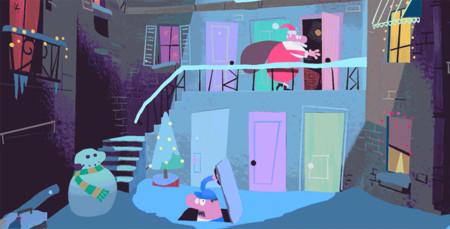 Fantástica animación interactiva por parte de Google para recordarnos que ya está ahí la Navidad