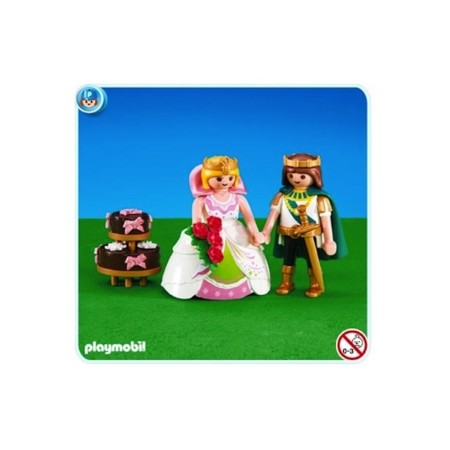 toppers playmobil boda medieval