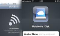 Un vistazo a la aplicación iDisk para el iPhone e iPod touch