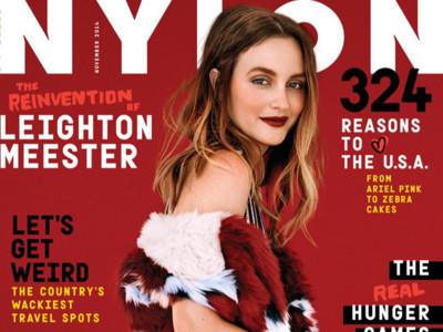 Duelo de portadas entre it girls: ¿Leighton Meester o Diane Kruger?