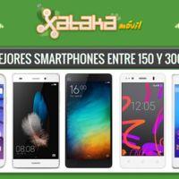 ¿Quieres smartphone entre 150 y 300 euros? Estas son las mejores alternativas y su precio a plazos
