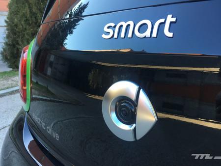 Smart Forfour EQ logotipo trasero