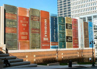 La gran biblioteca exterior de Kansas City