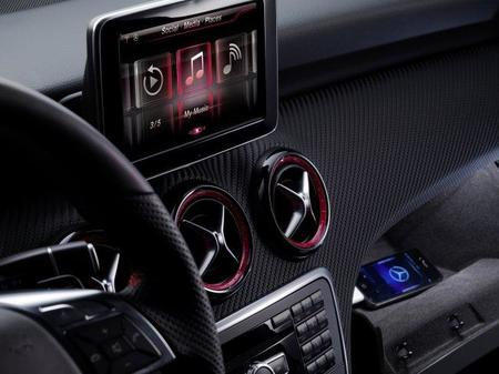 Primeras imágenes del interior del nuevo Mercedes-Benz Clase A