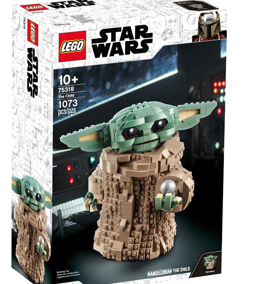 Baby Joda de Lego