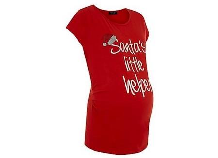 Camiseta Premamá Navidad New Look