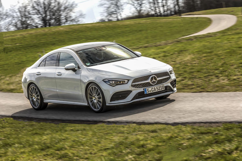 Foto de Mercedes-Benz CLA Coupé 2019, toma de contacto (103/248)