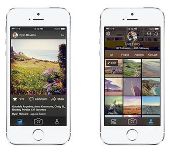 Flickr actualiza sus aplicaciones móviles para competir contra Instagram