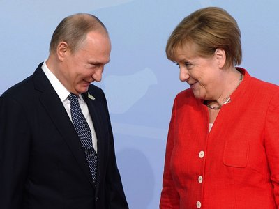 Putin haciendo mansplaining a Angela Merkel y otros grandes memes del G20