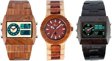 WeWOOD, relojes de madera