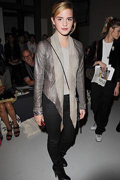 Emma Watson en la London Fashion Week