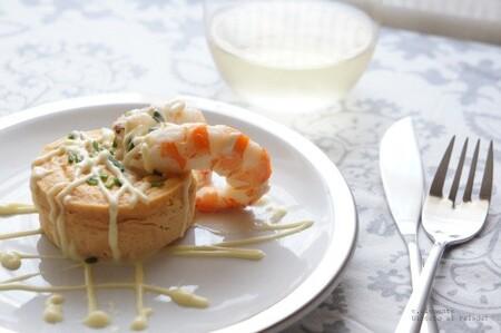 Receta de mousse falsa de marisco, un entrante sencillo, resultón y barato para una ocasión especial