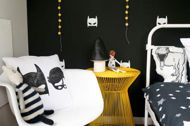 Un dormitorio infantil para los fans de batman - Dormitorio infantil original ...