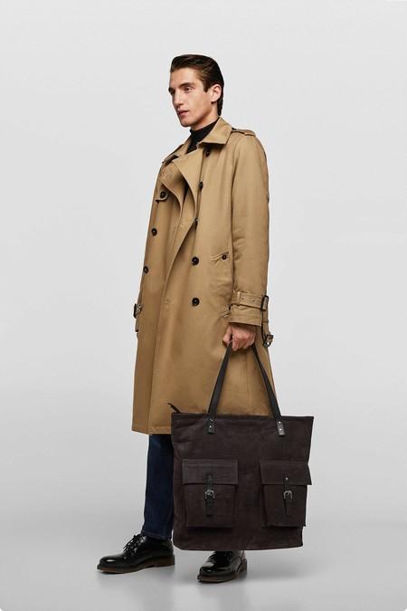 Para el cole y la oficina, éstos bolsos y mochilas de Zara te ayudan a llevar todo con estilo