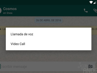 Las videollamadas de WhatsApp a la vuelta de la esquina: ya hacen acto de presencia en su beta