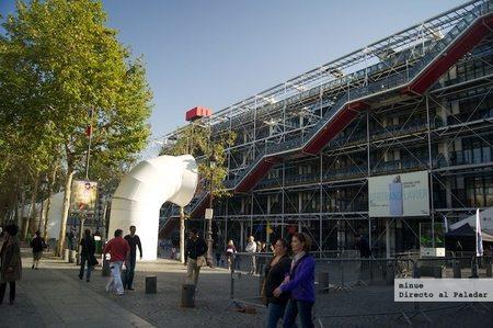 Restaurante Le Georges en la terraza del Pompidou