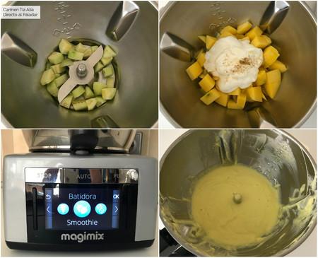 Paso A Paso Gazpacho O Sopa Fria De Mango