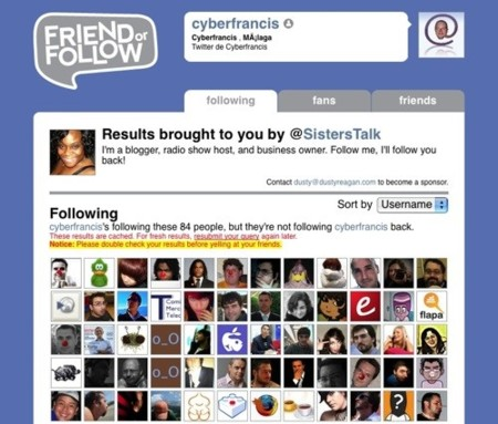 Friend or follow, descubre tu red social en Twitter