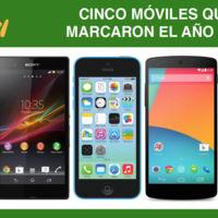 Cinco móviles que marcaron el año 2013